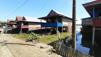 364 Rumah di Desa Watampanua Terendam Banjir Akibat Meluapnya Sungai Walennae di Wajo
