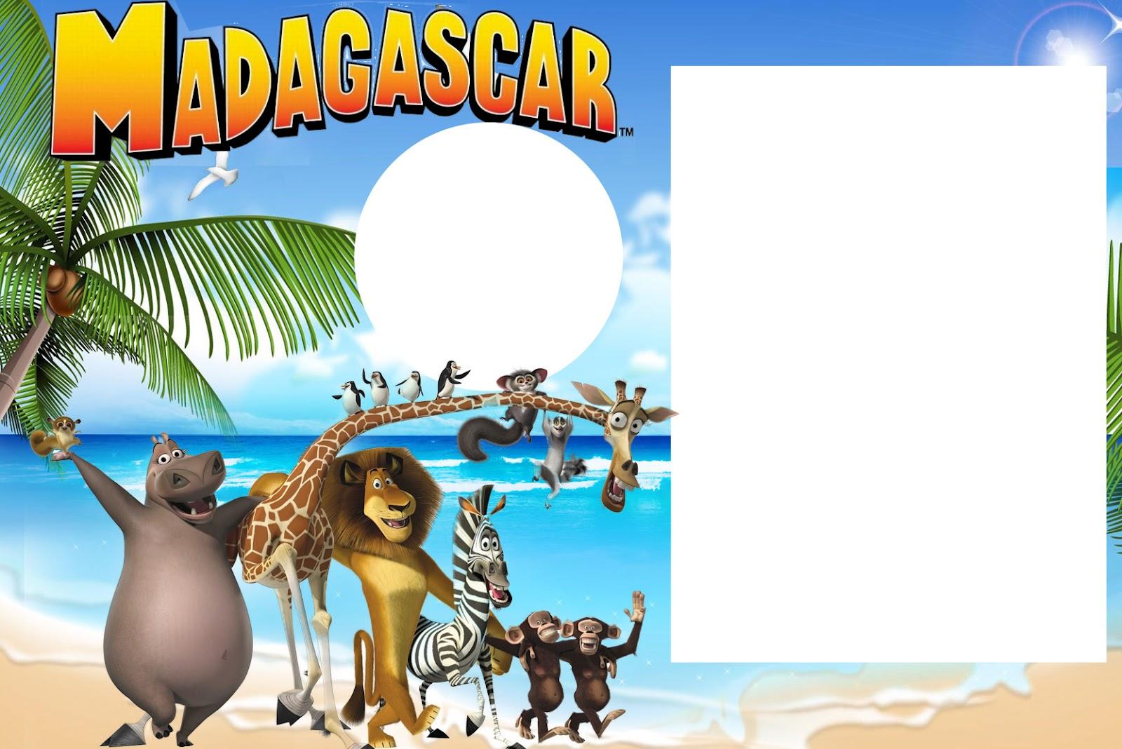Imprimibles De Madagascar Ideas Y Material Gratis Para