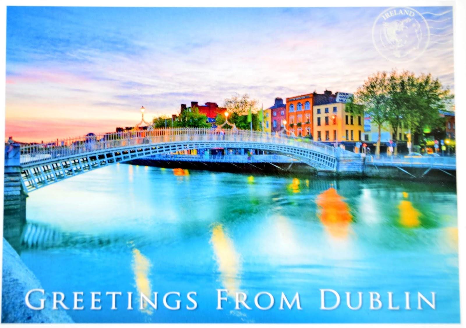 pocztówka z Irlandii