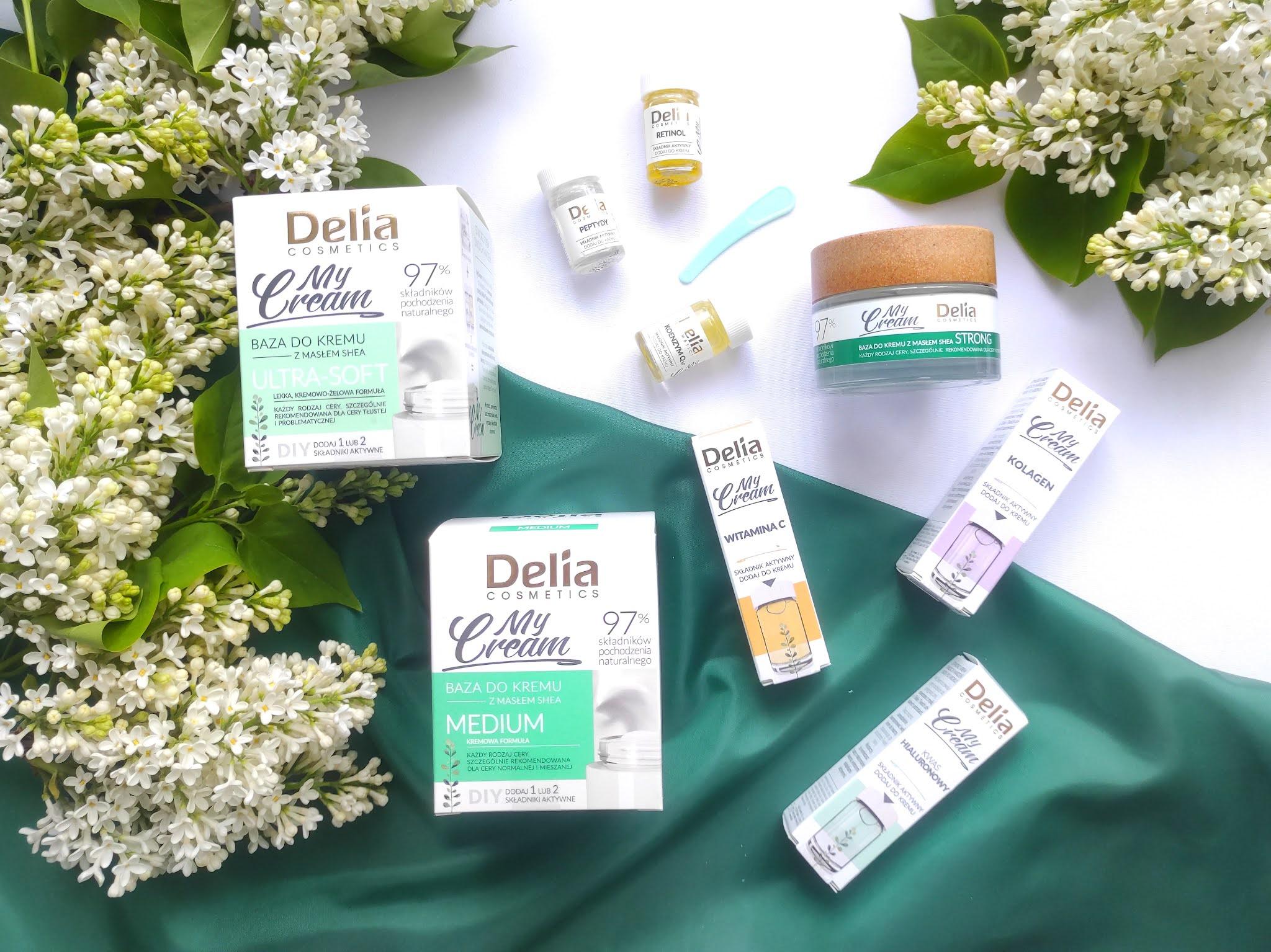 Linia kosmetyków My Cream Delia