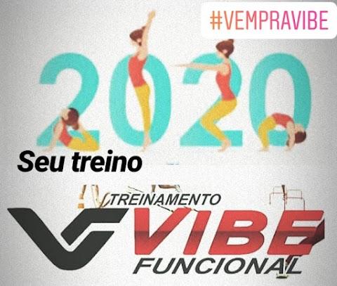 Um Ano Novo com muita disposição é com a Vibe Funcional #VEMPRAVIBE2020