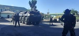 Hari Kedua Latpam VVIP Kodam IX/Udayana, Mantapkan Pertempuran Jarak Dekat