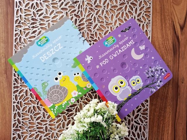 Akademia Mądrego Dziecka. Niesamowity Spacer - nowa seria książeczek dla maluchów od wydawnictwa Harperkids