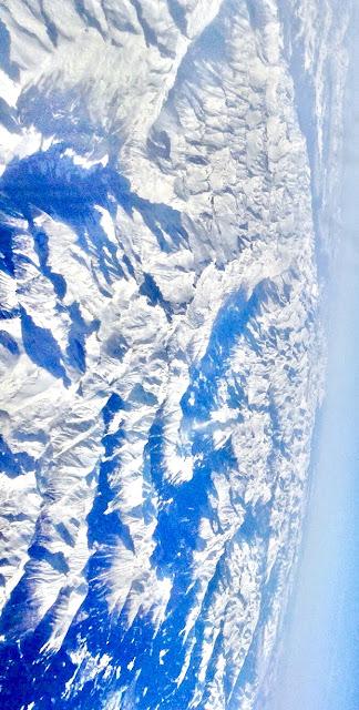 Los Alpes Vista aérea