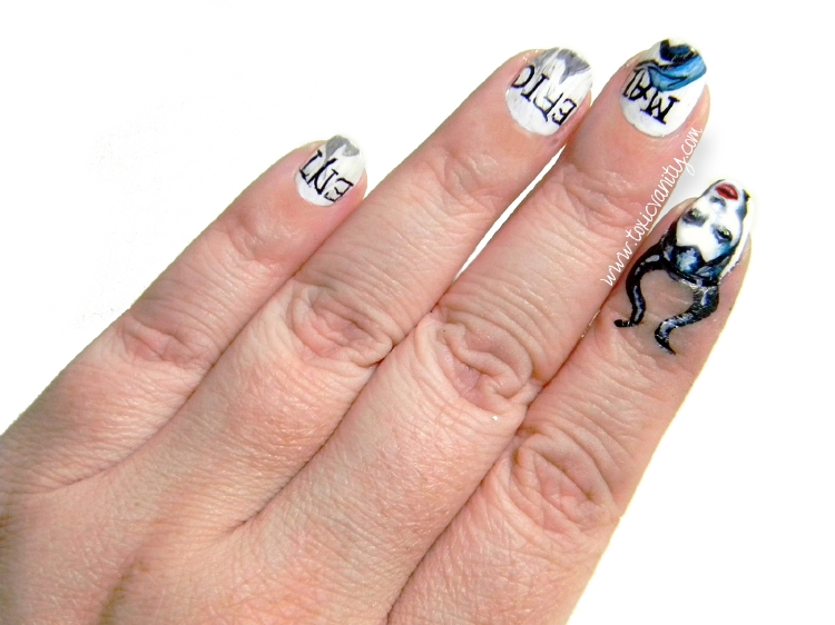 Manicura De Malefica Maleficent Nail Art Toxic Vanity