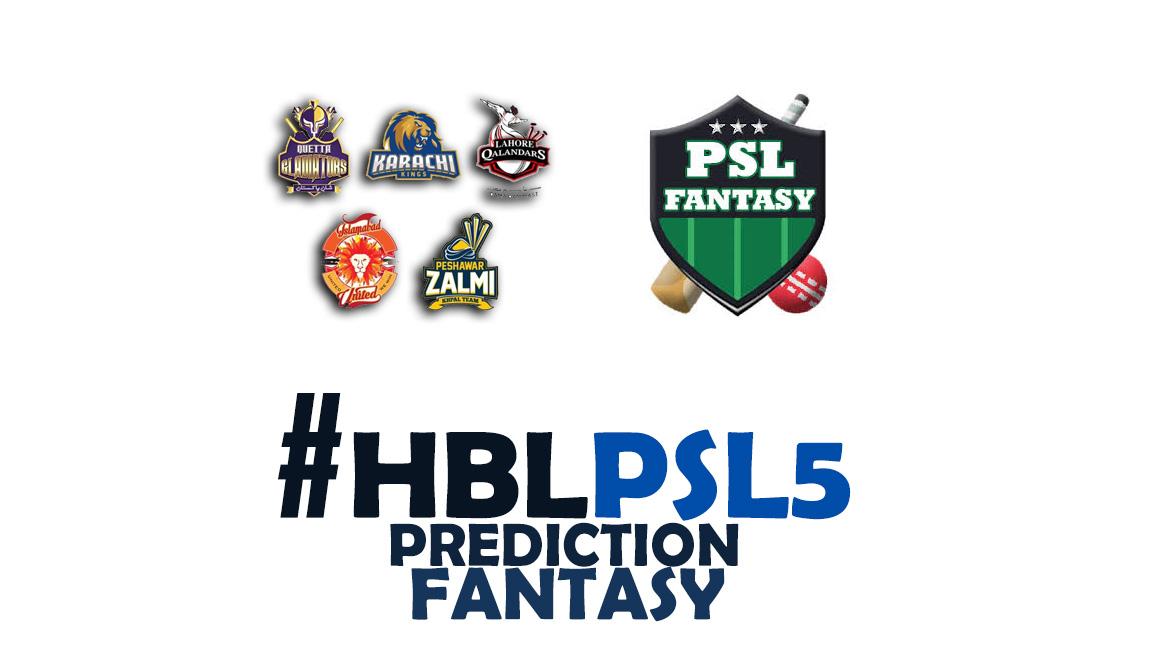 Pakistan Super League 2020 (PSL5) Prediction, Fantasy Teams, Records, Statistics, Players