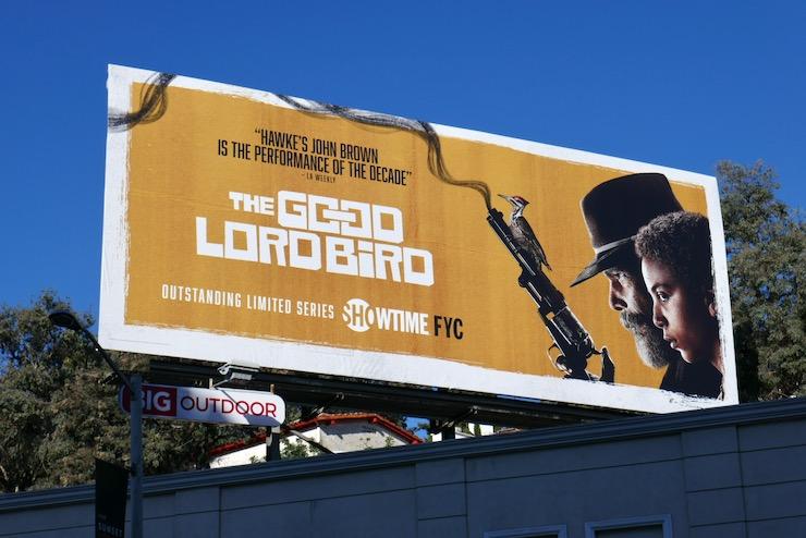 Good Lord Bird Showtime FYC billboard