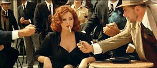 Monica Bellucci playing a prostitute in Malena