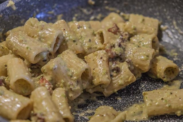 Pasta con il pistacchio