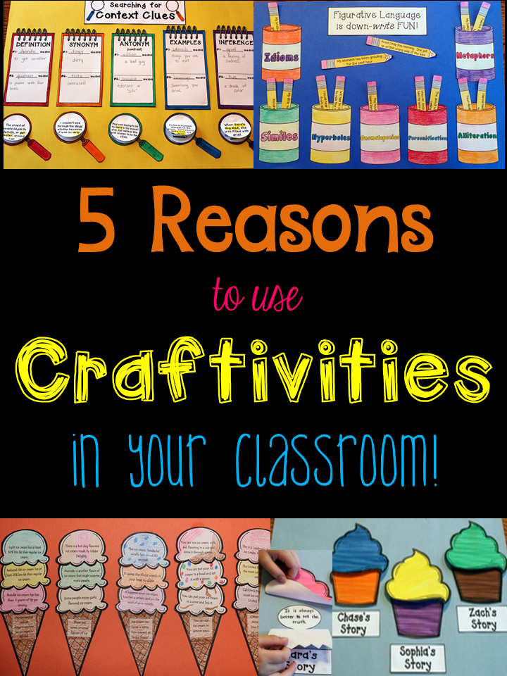 Reasons to Use Craftivities
