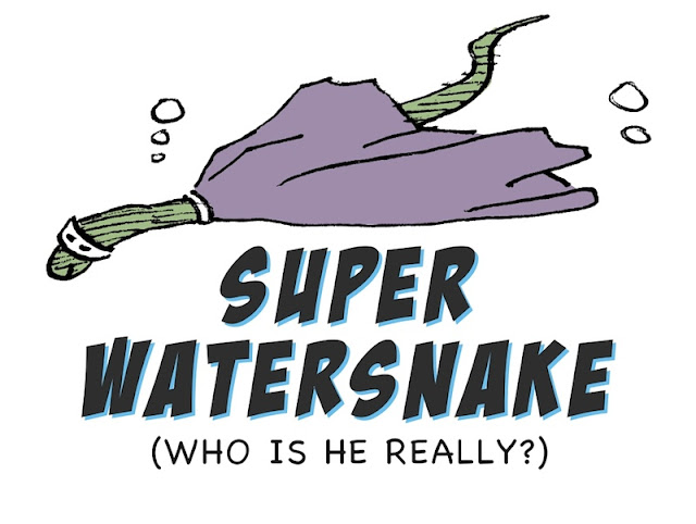 Super Watersnake, animal cartoon