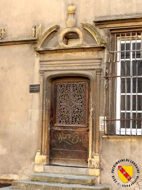 METZ (57) - Hôtel de Burtaigne (1520-1540)