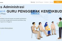 Berkas Administrasi Program Pendaftaran Guru Penggerak dan Pendamping
