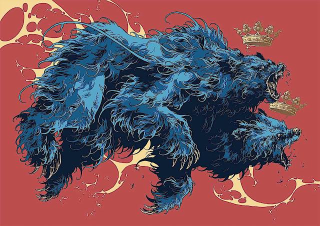 Ivan Belikov blue bears art