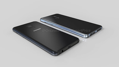 Samsung Galaxy A5 (2018) and Galaxy A7 (2018) Renders leaked