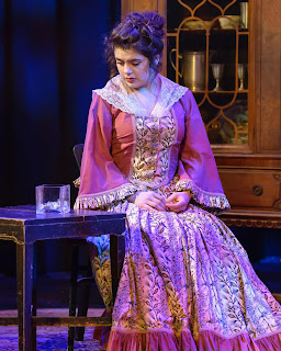 Susana in the FPAC production of Tartuffe at THE BLACK BOX