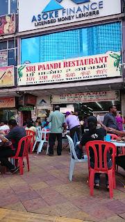 Sri Paandi Restaurant Brickfields Kuala Lumpur