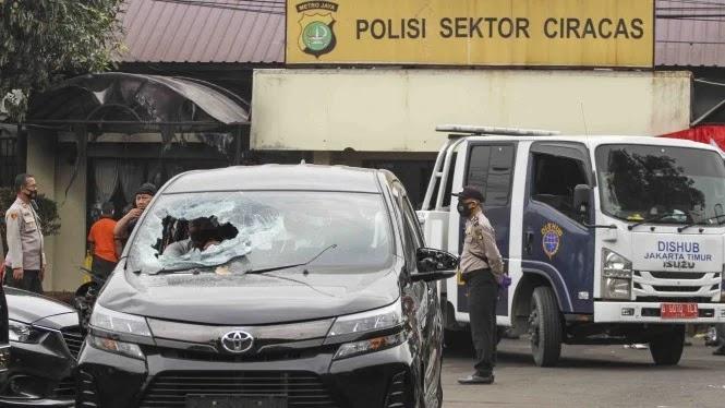 Warga Berikan Kesaksian saat Melihat Penyerangan Polsek Ciracas