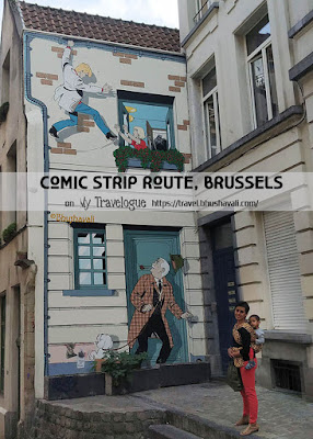 Brussels Walking Tour - Comic Art Murals - Photos Pinterest