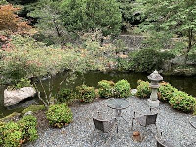 船山温泉の庭