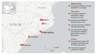 What we know about the Barcelona terrorist attack