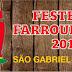Confira a programação dos Festejos Farroupilhas de São Gabriel