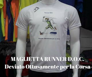 maglietta running