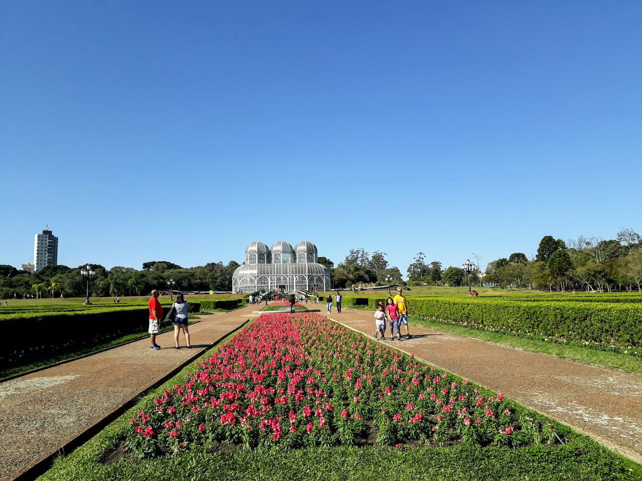 Curitiba - passeio pelo Jardim Botânico Francisca Rischbieter