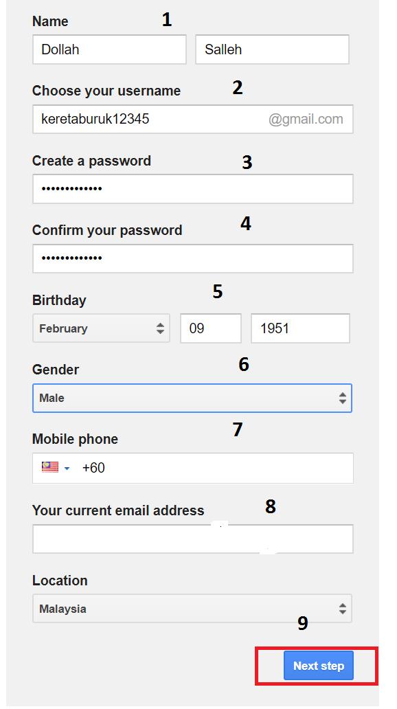 Cara Buat Gmail Terkini