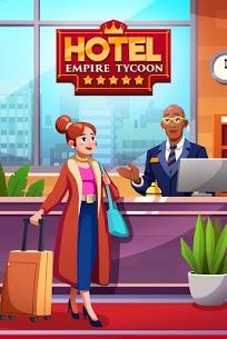تحميل لعبة Hotel Empire Tycoon مهكرة للاندرويد