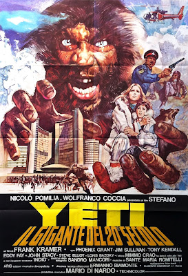 Yeti - Giant of the 20th Century Poster