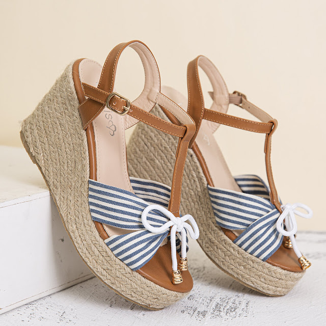 low wedge espadrilles