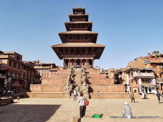 A Durbar Square de Bhaktapur
