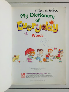 My Dictionary of Everyday Words