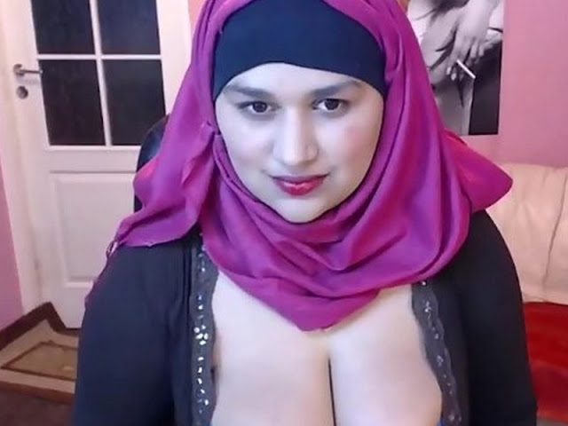 Girl beautiful sex hijab