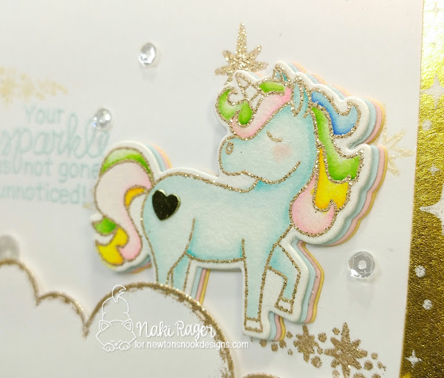 Newton's Nook Designs Believe in Unicorns Set - Naki Rager