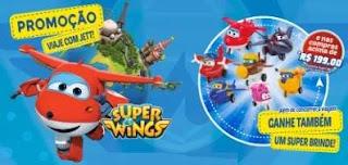 Cadastrar Promoção Super Wings 20 Mil Reais em Viagem - Viaje com Jett