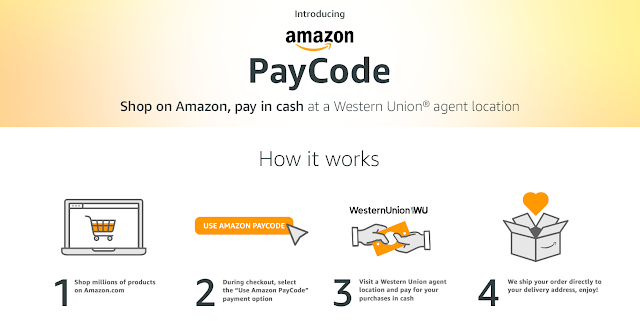 Amazon PayCode lets you pay in cash
