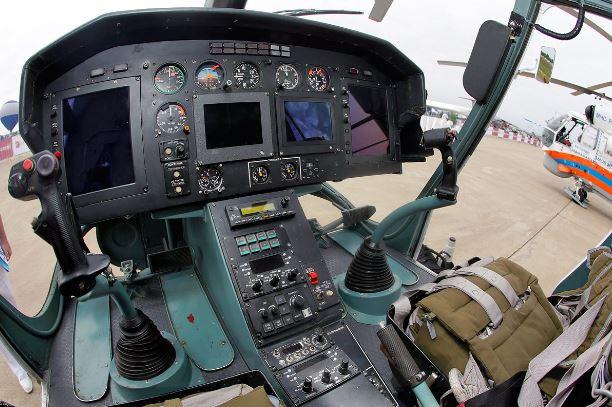 Kamov Ka-226T cockpit