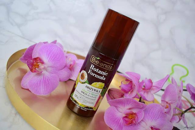 BOTANIC FORMULA Chmiel + Skrzyp- Odżywka w sprayu do włosów farbowanych i zniszczonych