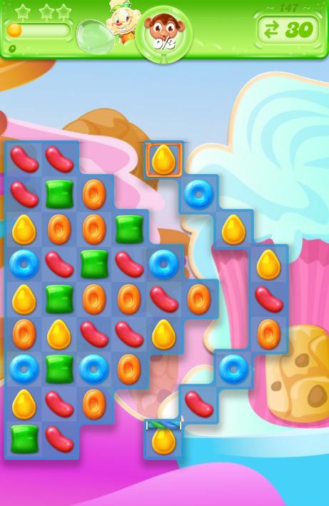 Candy Crush Jelly Saga 147