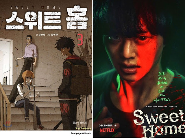 Sweet Home Drama or Sweet Home Webtoon?