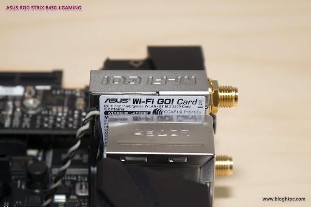 WIFI AC ASUS ROG STRIX B450-i GAMING