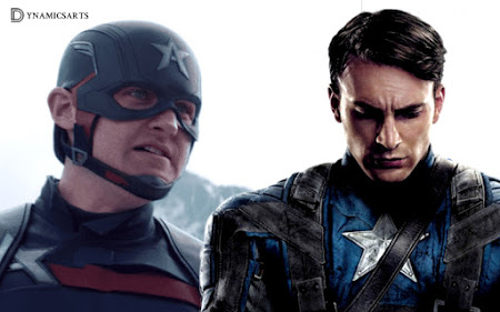 Wyatt Russell's Wanted Chris Evans Captain America Suit for The Falcon and The Winter Soldier