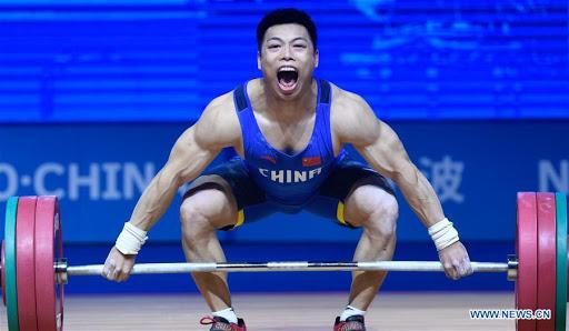 China levantamento de peso Olimpíadas