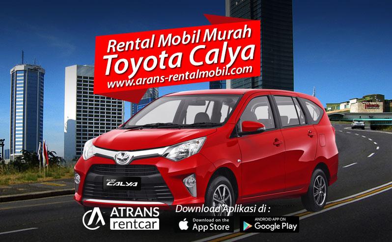 Rental Mobil Murah Toyota Calya Jakarta selatan