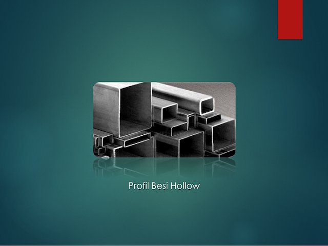 Profil Besi Hollow