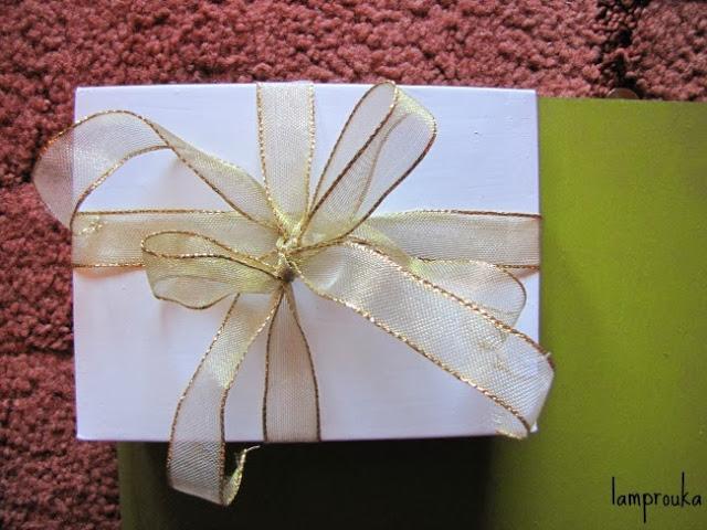 Χριστουγεννιάτικο ημερολόγιο με κουτιά.
