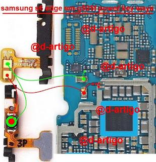 Samsung G925 S6 Edge Botão Power