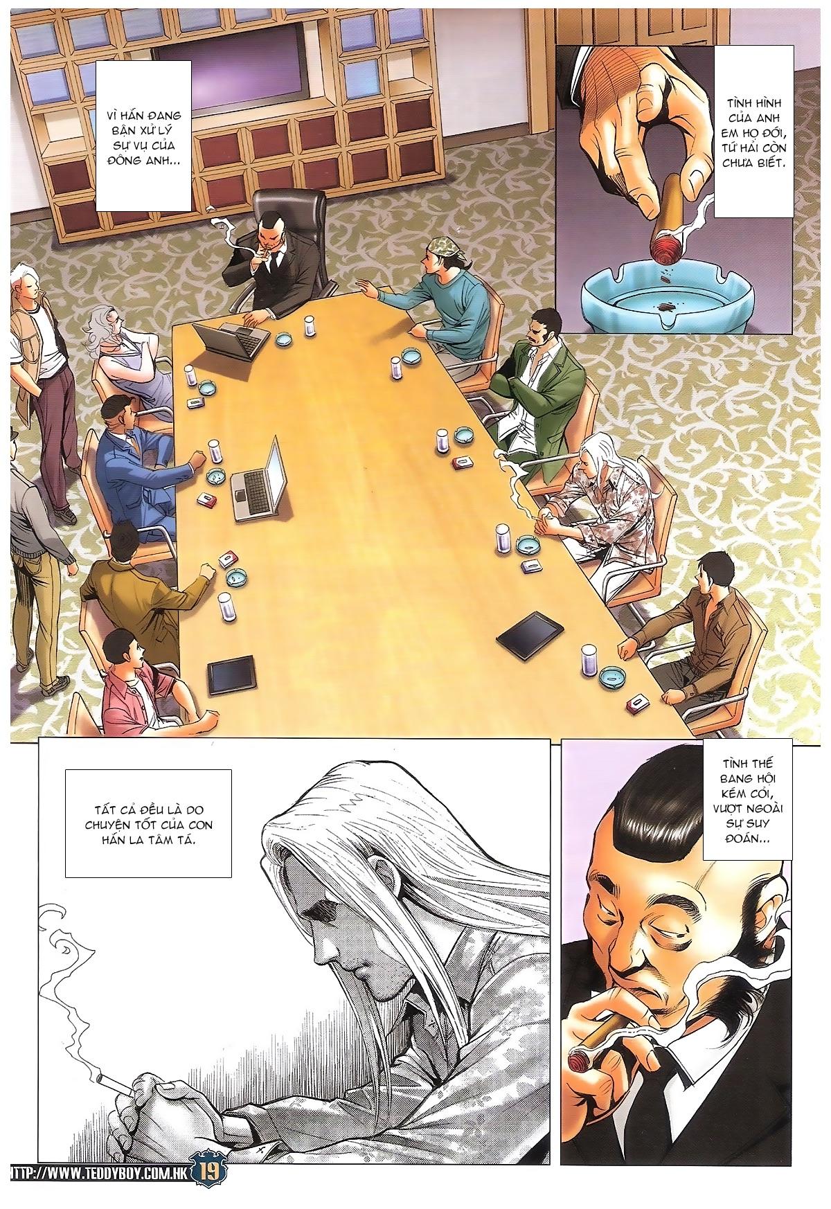 Người Trong Giang Hồ chapter 1706: kịch chiến trang 18